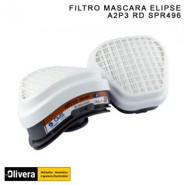 FILTRO ELIPSE A2P3 RD SPR497