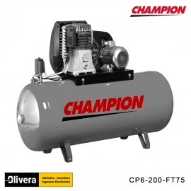 COMPRESOR CHAMPION PISTÓN CP6-200-FT75